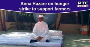 Anna Hazare goes on hunger strike to support farmers