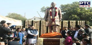Union Minister Amit Shah unveils Arun Jaitley's statue at DDCA premises