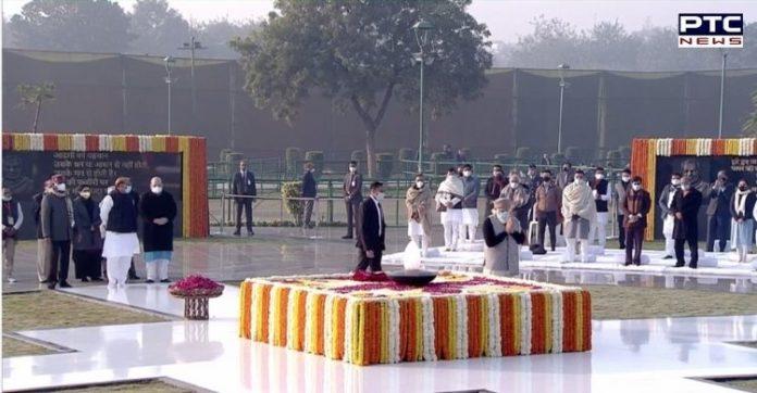 President, PM Modi, pay tribute to Atal Bihari Vajpayee on his birth anniversary