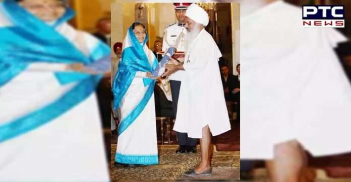 Baba Sewa Singh Ji announces return of Padma Shri Award in support of farmers