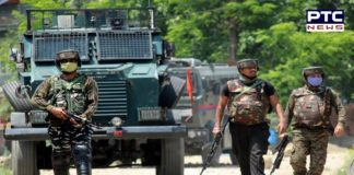 Encounter breaks out between security forces and terrorists in Wanigam