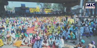 Bharat Bandh : Farmers protest at Budhlada and Lohian Khas Against Farm Bills