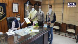 Democratic Teachers Front Punjab Demand letter sent to Punjab Chief Minister through DC Sangrur