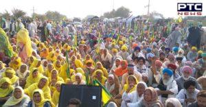 Farmers Protest Delhi border against the Central Government's Farm laws 2020