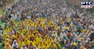 Farmers Protest Delhi against the Central Government's Farm laws 2020