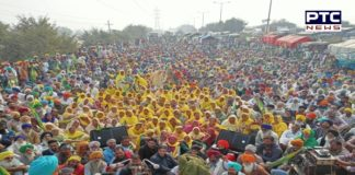 Farmers Protest in Delhi against the Central Government's Farm laws 2020