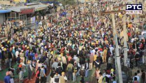 Farmers Protest in Delhi against the Central Government's Farm laws 2020