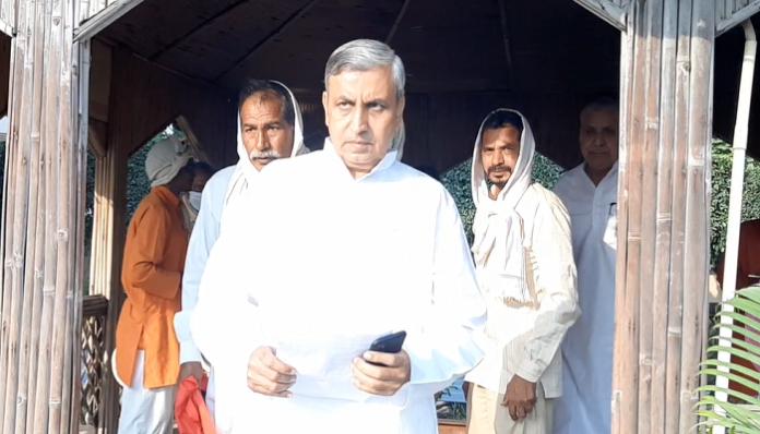 Agriculture Minister JP Dalal