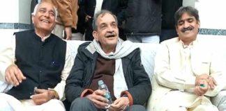 Birendra Singh in support of farmers