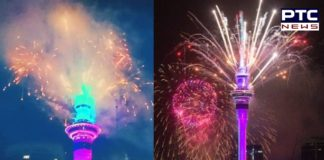 Happy New Year New Zealand! Auckland welcomes in 2021 with fireworks
