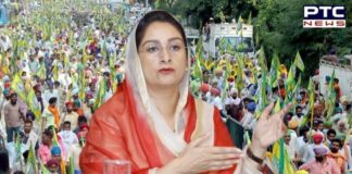 Farmers Protest: Harsimrat Kaur Badal asked Captain Amarinder Singh how long to implement farm bills passed Punjab Vidhan Sabha?
