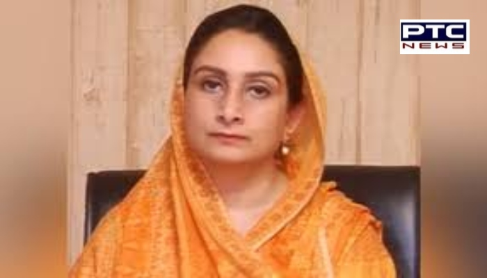 Shiromani Akali Dal leader Harsimrat Kaur Badal thanked everyone for their concern and good wishes after discharged from PGI Chandigarh.