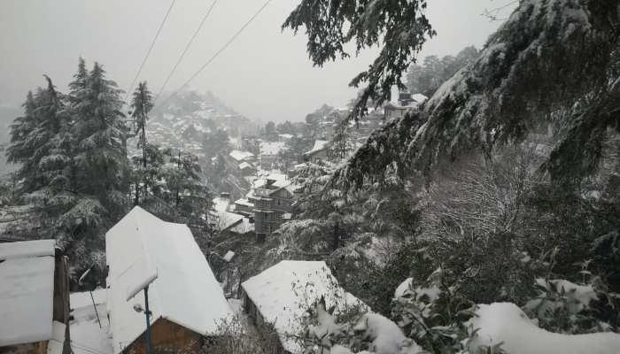 Snowfall in Himachal