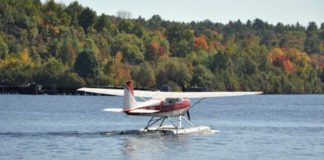 Water plane in Himachal