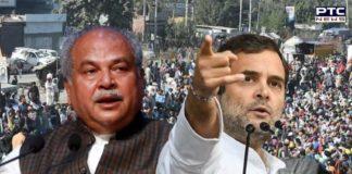 Congress' character has always been anti-farmer: Narendra Singh Tomar