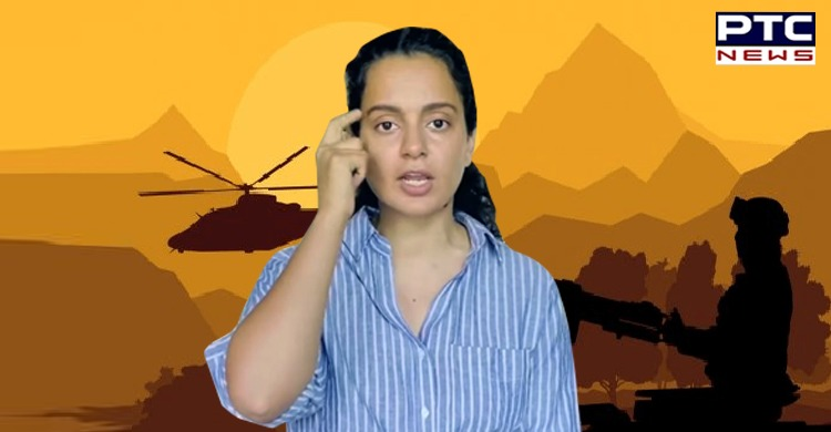 Kangana Ranaut met Rajnath Singh for Tejas. She was engaged in a war of words on Twitter with Diljit Dosanjh over remarks on farmers protest.