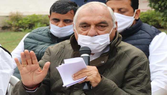 Hooda on Farmer Protest