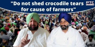 SAD tells CM not to shed crocodile tears for cause of farmers