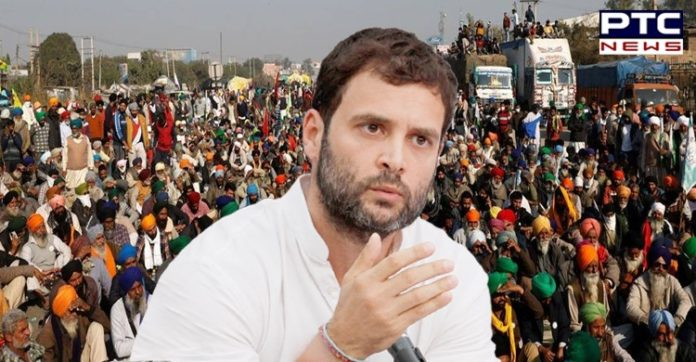 As farmers protest entered its 50th day, the Congress leader Rahul Gandhi said that the government will be forced to repeal farm laws 2020.