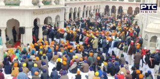Bhog of Sri Akhand Path Sahib the SAD 100th Foundation Day
