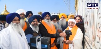 SGPC launches service to protect the walls of Sachkhand Sri Harmandir Sahib from Salhab