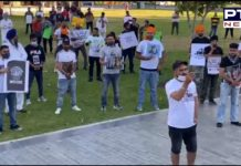 Students Protest support of Punjab farmers in Adelaide, Australia