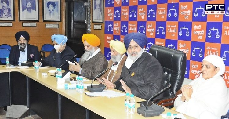 Shiromani Akali Dal led by Sukhbir Singh Badal asked Centre not to deny right of farmers for peaceful Tractor March on Republic Day in Delhi.