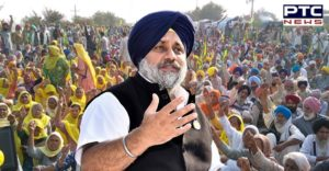 "Sukhbir blasts Delhi CM for shedding ""Kejriwal tears"" on farm Acts"