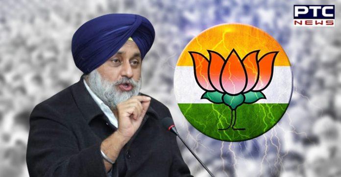 """BJP is real tukde tukde gang in the country : Sukhbir Singh Badal"