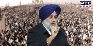 Sukhbir Singh Badal castigates Centre for being heartless towards farmers