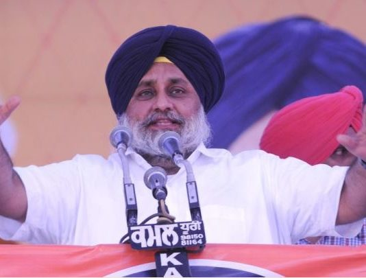 Centre misusing office of Governor: Sukhbir Singh Badal