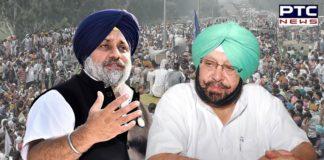 Captain Amarinder Singh sang BJP script like parrot: Sukhbir Singh Badal