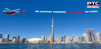 Farmers Protest: Supporters organise 'Tractor to Chopper' event in Canada