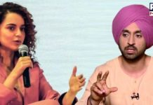 Twitter War over Diljit and Kangana