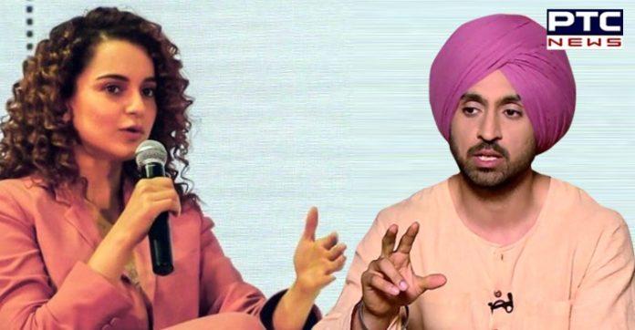 Twitter War over Diljit and Kangana