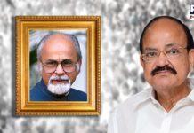 VP Venkaiah Naidu releases commemorative postage stamp in honour of late PM IK Gujral