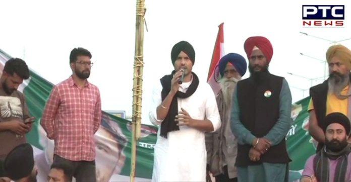 Bharat Bandh: Punjabi singer Jass Bajwa joins farmers protest at Ghazipur border