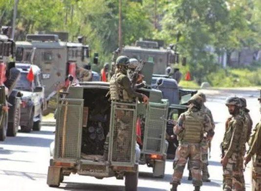Three terrorists killed in Lawaypora encounter outside Srinagar city