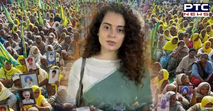 Farmers protest is politically motivated, some terrorists also involved: Kangana Ranaut