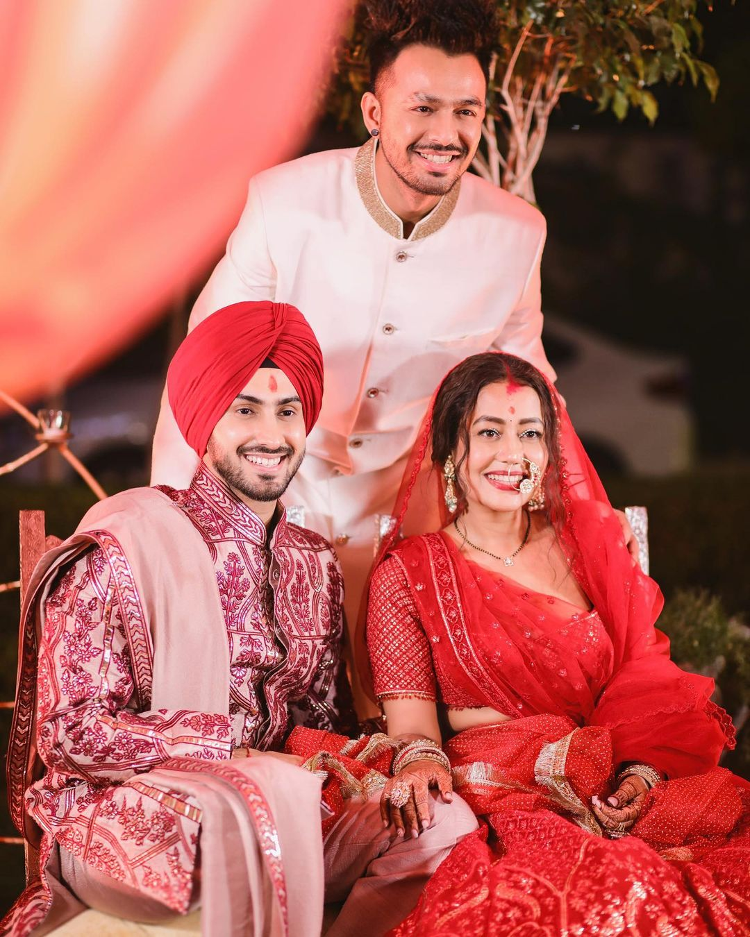 Neha Kakkar Pregnant? B-town members congratulate Neha Kakkar and Rohanpreet Singh as she posted a picture with a baby bump on Friday.