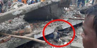 Roof collapse incident in Muradnagar