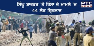 Farmers Protest News : 44 Arrested by Delhi Police in Singhu Border Violence