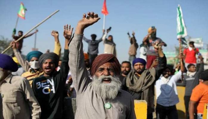Amid farmers protest against farm laws 2020, Supreme Court-appointed committee held its first meeting where Anil Ghanwat was also present.