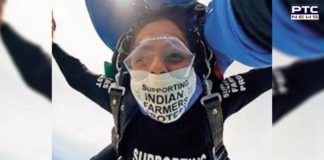 Punjab woman dives in Australian skies to support farmers at home