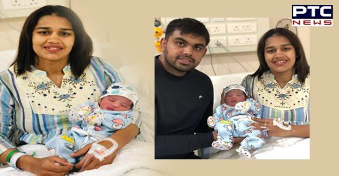 Babita Phogat and husband Vivek Suhag welcome baby boy [PHOTOS]