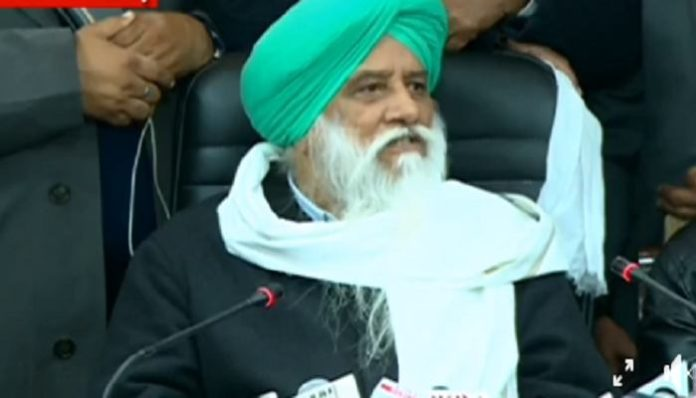 Balbir Singh Rajewal slams government for blaming farmers for spreading coronavirus