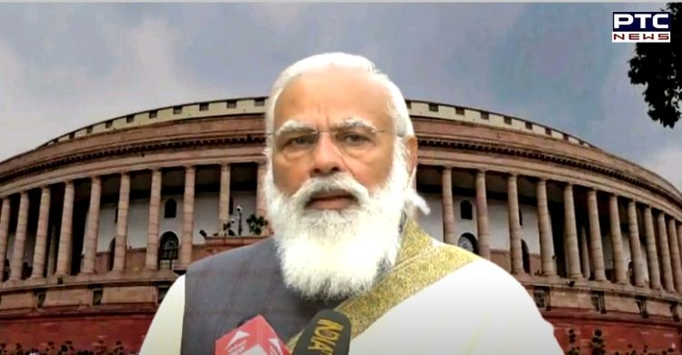 PM Narendra Modi addressed all-party meeting on Union Budget Session 2021 and highlighted role that India can play in many sectors.