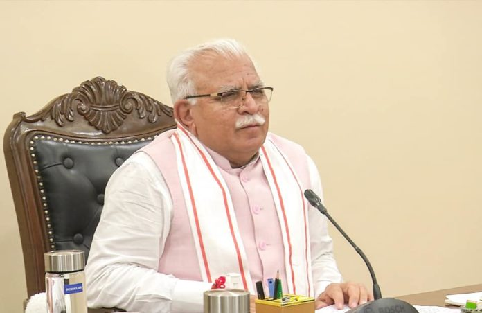 CM Manohar Lal Khattar