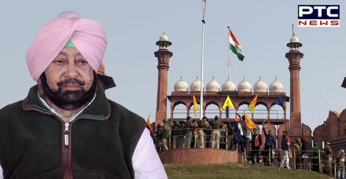Tractor March Violence: Captain Amarinder urges farmers to vacate Delhi