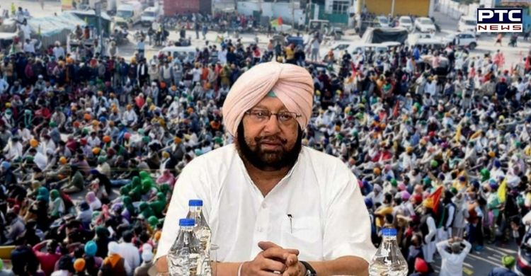 On NIA notices to farmers amid protest against farm laws 2020, Punjab CM Captain Amarinder Singh slammed Centre for it.